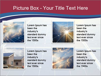 Solar energy PowerPoint Template - Slide 14