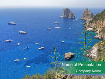 Landscape picture PowerPoint Template