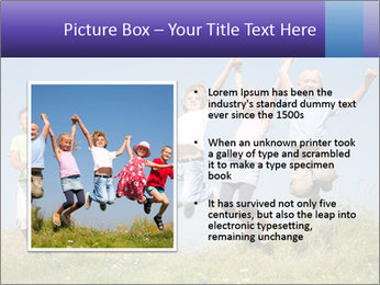 Children jumping PowerPoint Templates - Slide 13