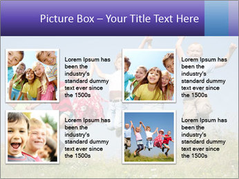 Children jumping PowerPoint Templates - Slide 14