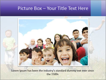 Children jumping PowerPoint Templates - Slide 15