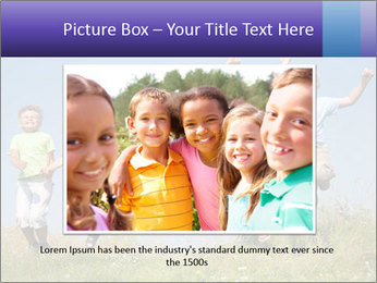 Children jumping PowerPoint Templates - Slide 16