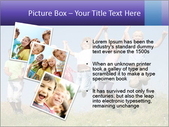 Children jumping PowerPoint Templates - Slide 17