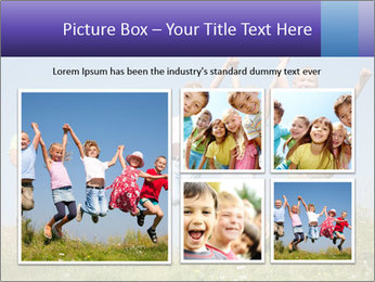 Children jumping PowerPoint Templates - Slide 19