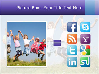 Children jumping PowerPoint Templates - Slide 21