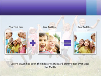 Children jumping PowerPoint Templates - Slide 22