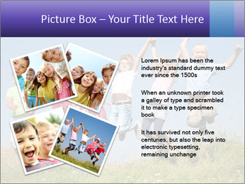 Children jumping PowerPoint Templates - Slide 23