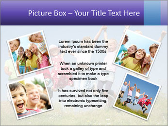 Children jumping PowerPoint Templates - Slide 24