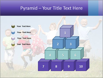 Children jumping PowerPoint Templates - Slide 31
