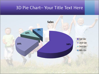 Children jumping PowerPoint Templates - Slide 35