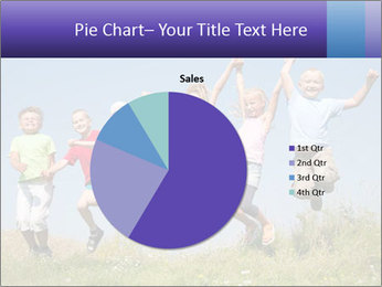 Children jumping PowerPoint Templates - Slide 36