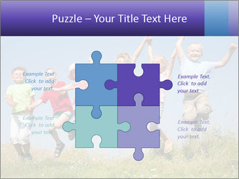 Children jumping PowerPoint Templates - Slide 43