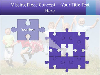 Children jumping PowerPoint Templates - Slide 45