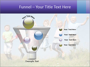 Children jumping PowerPoint Templates - Slide 63