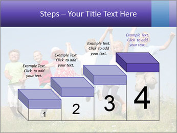 Children jumping PowerPoint Templates - Slide 64