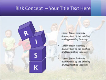 Children jumping PowerPoint Templates - Slide 81