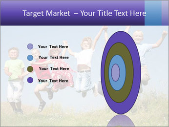 Children jumping PowerPoint Templates - Slide 84