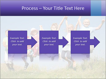 Children jumping PowerPoint Templates - Slide 88