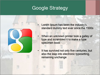 Baronial Craigievar Castle PowerPoint Template - Slide 10