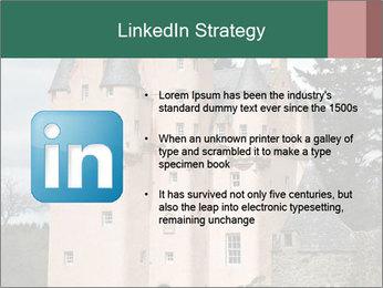 Baronial Craigievar Castle PowerPoint Template - Slide 12