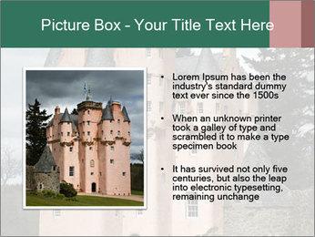 Baronial Craigievar Castle PowerPoint Template - Slide 13