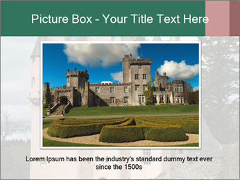 Baronial Craigievar Castle PowerPoint Template - Slide 16