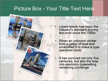 Baronial Craigievar Castle PowerPoint Template - Slide 17