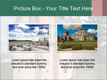 Baronial Craigievar Castle PowerPoint Template - Slide 18