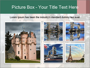 Baronial Craigievar Castle PowerPoint Template - Slide 19