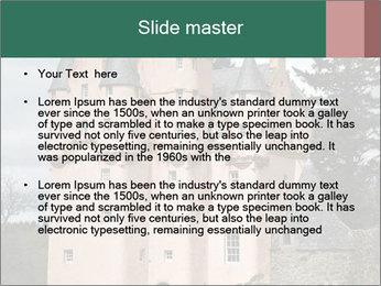 Baronial Craigievar Castle PowerPoint Template - Slide 2