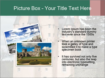 Baronial Craigievar Castle PowerPoint Template - Slide 20