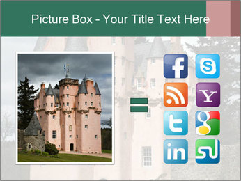 Baronial Craigievar Castle PowerPoint Template - Slide 21