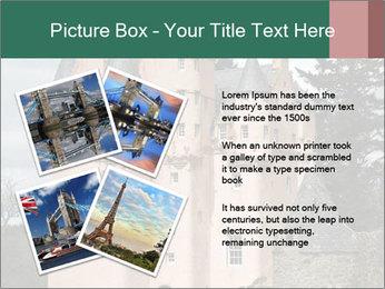 Baronial Craigievar Castle PowerPoint Template - Slide 23