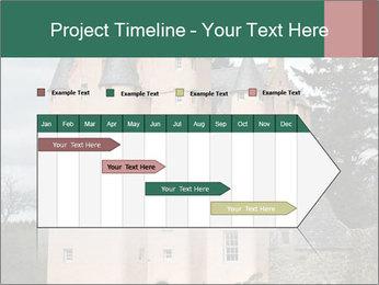 Baronial Craigievar Castle PowerPoint Template - Slide 25
