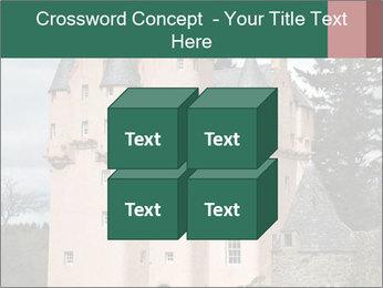 Baronial Craigievar Castle PowerPoint Template - Slide 39