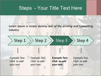 Baronial Craigievar Castle PowerPoint Template - Slide 4