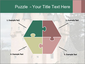 Baronial Craigievar Castle PowerPoint Template - Slide 40