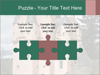 Baronial Craigievar Castle PowerPoint Template - Slide 42