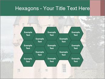Baronial Craigievar Castle PowerPoint Template - Slide 44