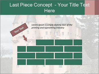 Baronial Craigievar Castle PowerPoint Template - Slide 46