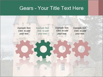 Baronial Craigievar Castle PowerPoint Template - Slide 48