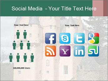 Baronial Craigievar Castle PowerPoint Template - Slide 5