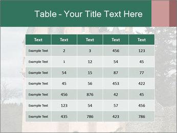 Baronial Craigievar Castle PowerPoint Template - Slide 55