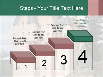 Baronial Craigievar Castle PowerPoint Template - Slide 64