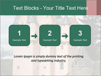 Baronial Craigievar Castle PowerPoint Template - Slide 71