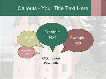 Baronial Craigievar Castle PowerPoint Template - Slide 73