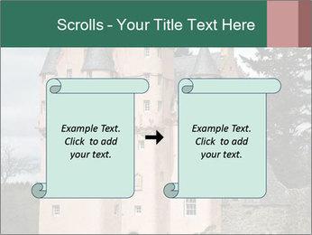 Baronial Craigievar Castle PowerPoint Template - Slide 74