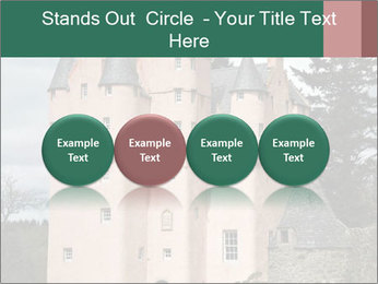 Baronial Craigievar Castle PowerPoint Template - Slide 76