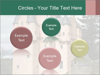 Baronial Craigievar Castle PowerPoint Template - Slide 77