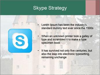 Baronial Craigievar Castle PowerPoint Template - Slide 8